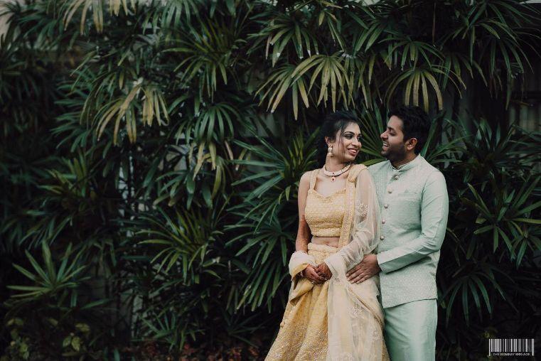 indian wedding , indian bride , cut daana work | fringed blouse | Destination wedding in Jim Corbett