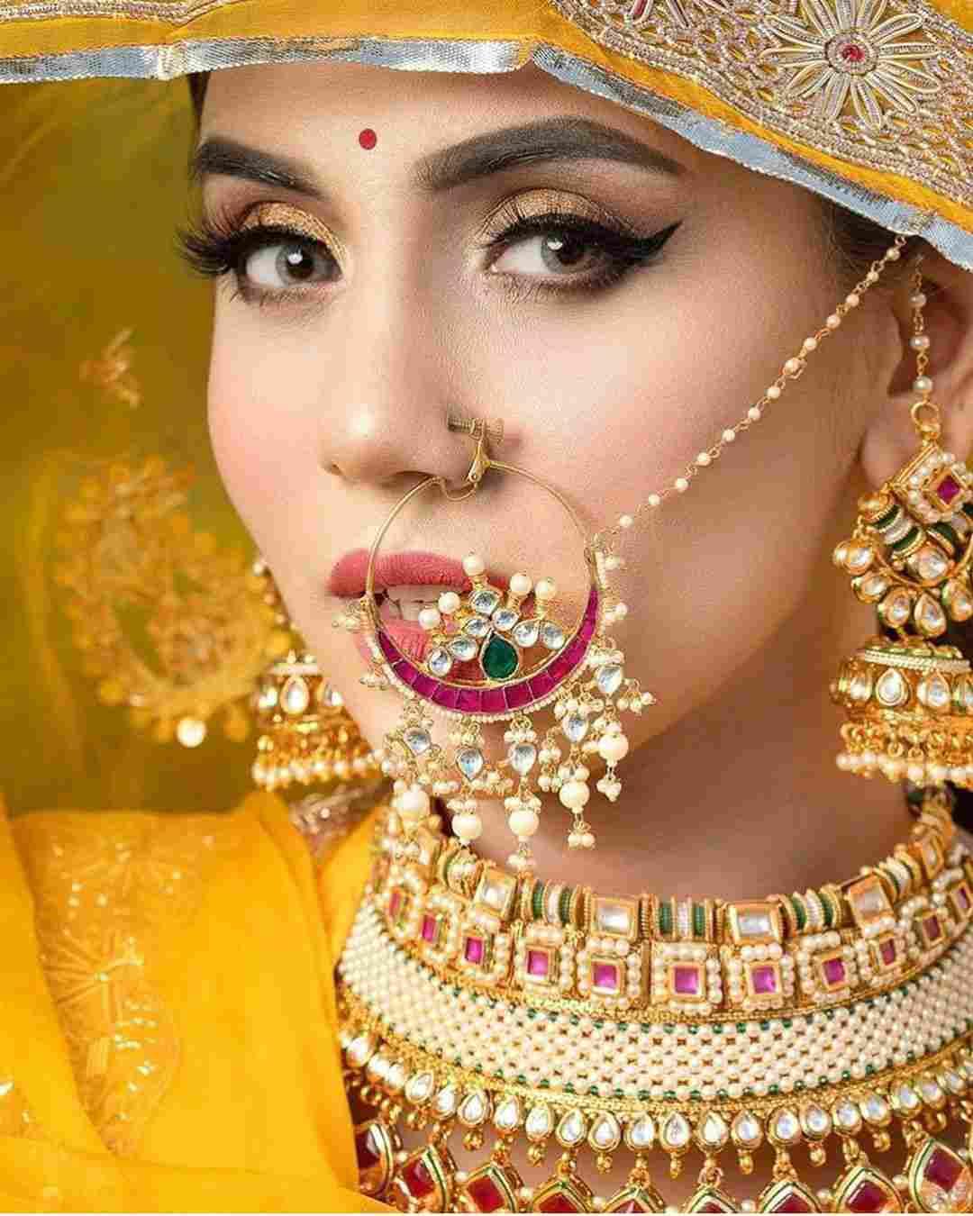 Bridal Nath | Bridal Naath | bridal jewellery | Rajputana jewellery | Rajasthani Jewelry | Jaipur jewellery | Rajputana bride