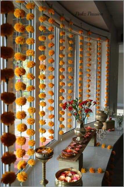 Diwali decoration   Floral decoration   Diwali DIY decoration ideas