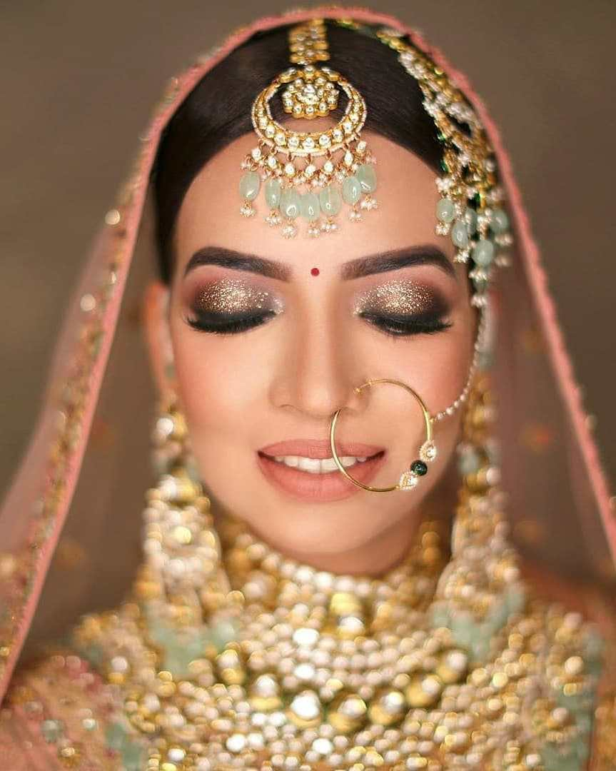 Bridal Nath | Bridal Naath | Bridal Jewelry | Bridal jewellery | Bridal makeup | Bridal eye makeup | Bridal 2020
