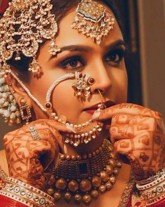Bridal Naath | Bridal Nath | Bridal Jewellery | Bridal Jewelry | Bridal Look | Bridal Makeover