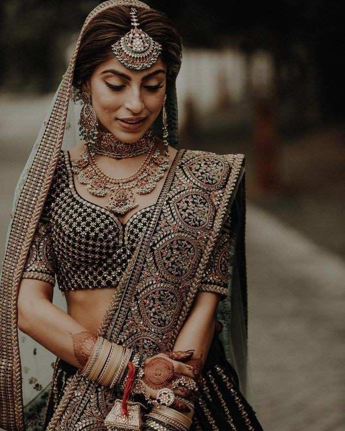 bridal lehenga designs | winter wedding