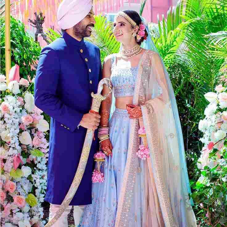 blue lehenga | bridal trends