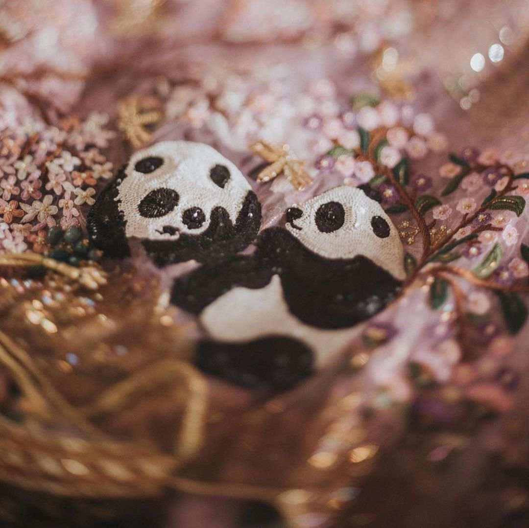 pandas | customized lehenga