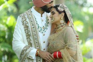 indian wedding , childhood sweetheart | intimate wedding