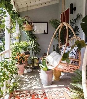 Balcony | Greens | Pots | Home inspiration | new House
