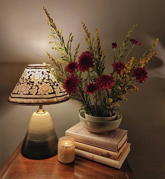 Night lamp   Scented candles   Home décor ideas