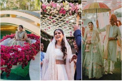 bridal entry ideas | wedding trends | 2021 weddings