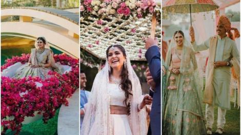 bridal entry ideas | wedding trends | 2021 weddings