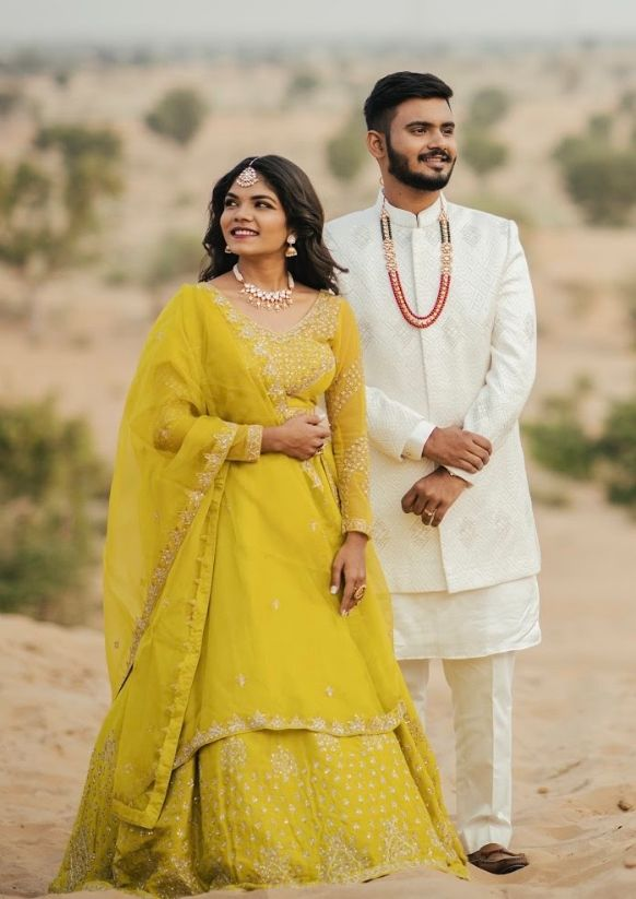 Real indian Wedding , pre wedding shoot outfit | outfit ideas , lehenga , weddings ,