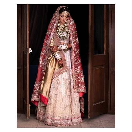 Miheeka Bajaj wedding look