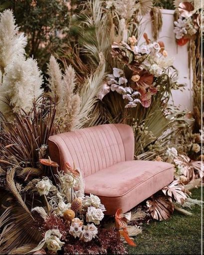 vintage vibes bridal seat