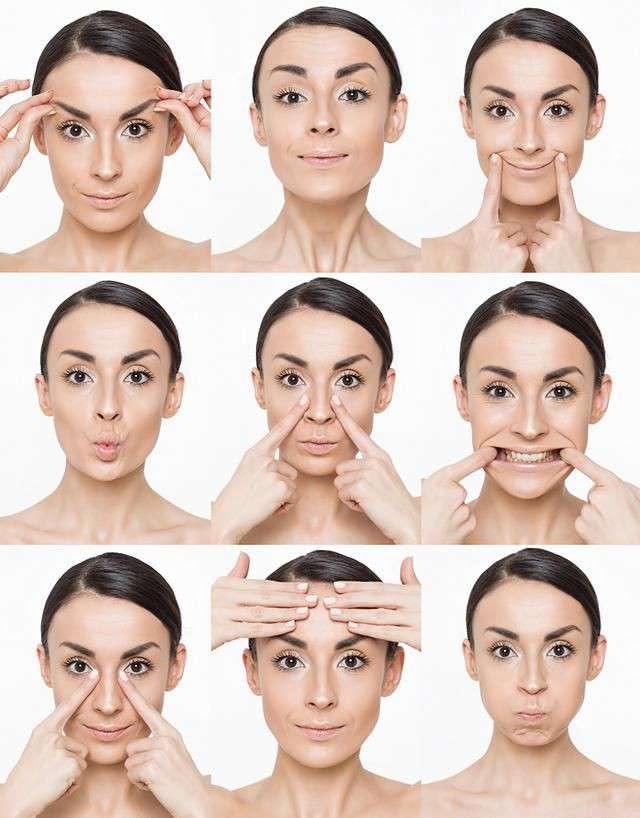 exercises | face yoga