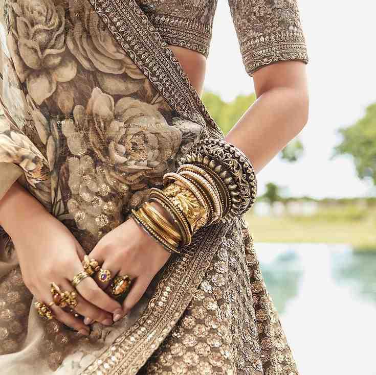 Indian wedding | brides of sabyasachi