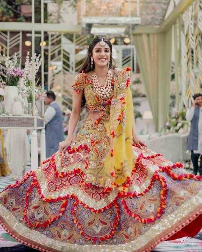 unique lehenga designs