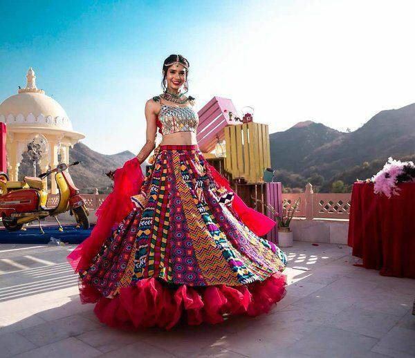 bridal trends | unique bridal lehengas