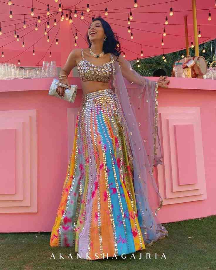 unique bridal lehengas