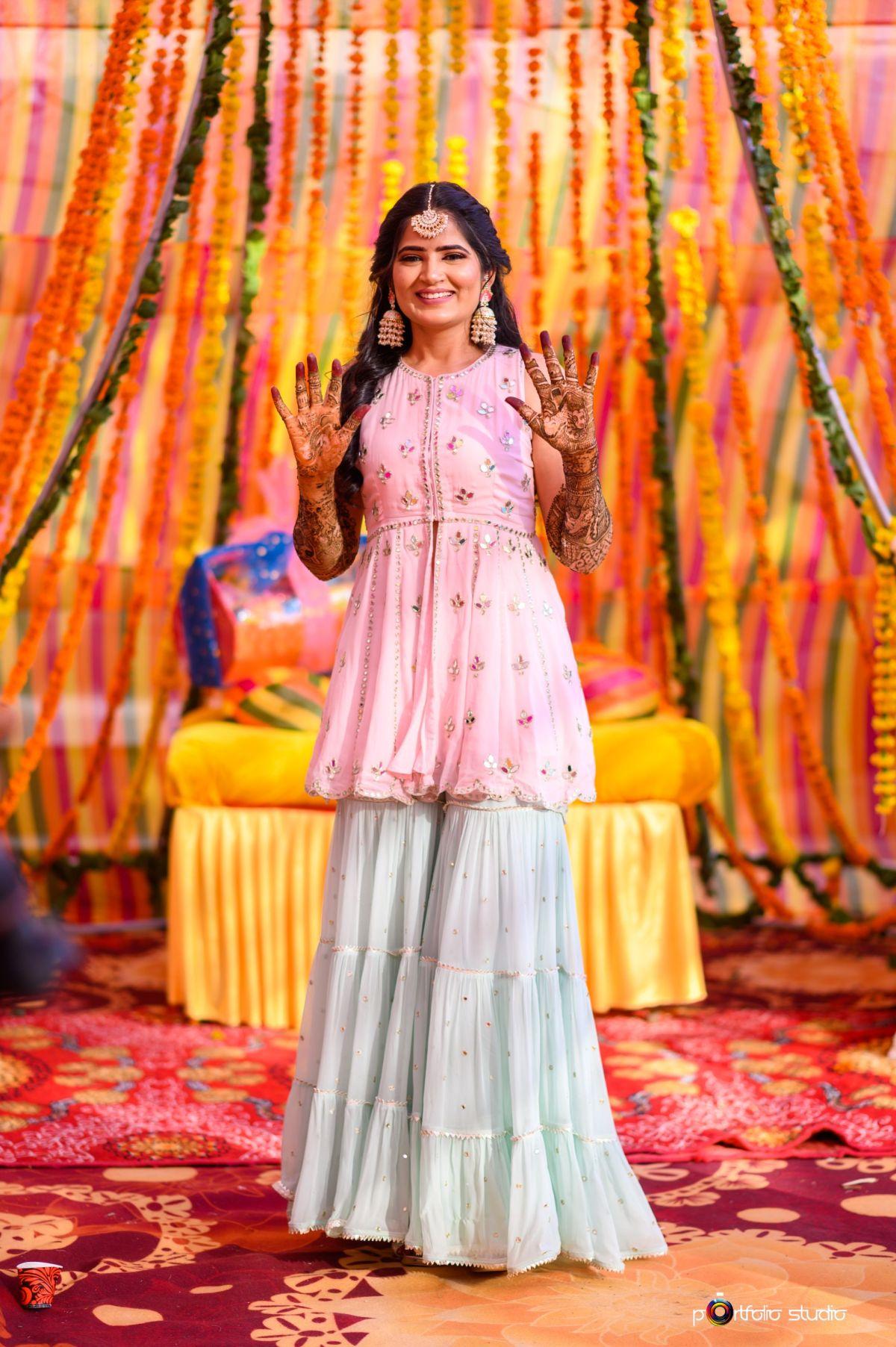 Indian wedding , bridal outfit , wittyvows , lehenga , wedding 2020 , jaipur wedding | covid wedding