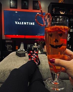 Movie night at valentines day