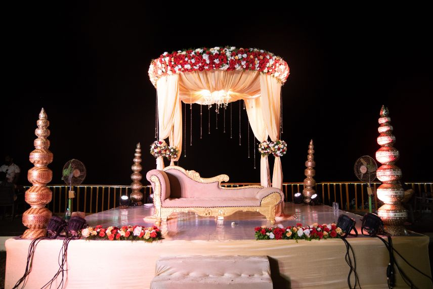 indian wedding mandap decoration , decor ideas , wedding decor 2021 , indian weddings , floral decor ideas for weddings #indianweddingdecor #decorideas #mandapdecor 	,   beach wedding | bollywood night | function decor