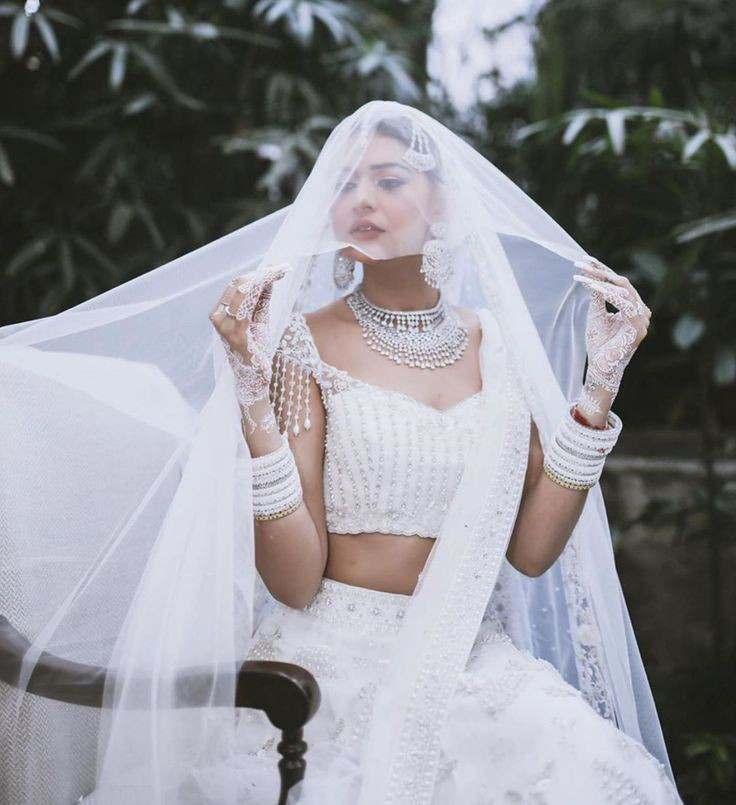 white wedding | Indian wedding