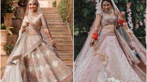 wedding lehenga | bridal lehenga | pastel lehenga | bridal trends | 2021 weddings