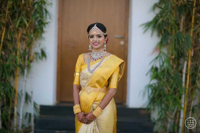yellow saree | wedding saree