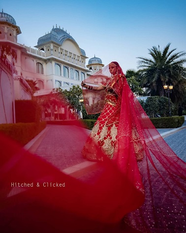 long dupatta to make your wedding lehenga look designer