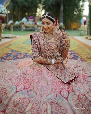 Sleeve details to make your wedding lehenga look designer
