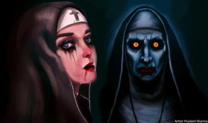 The Nun Artist Poulami Sharma