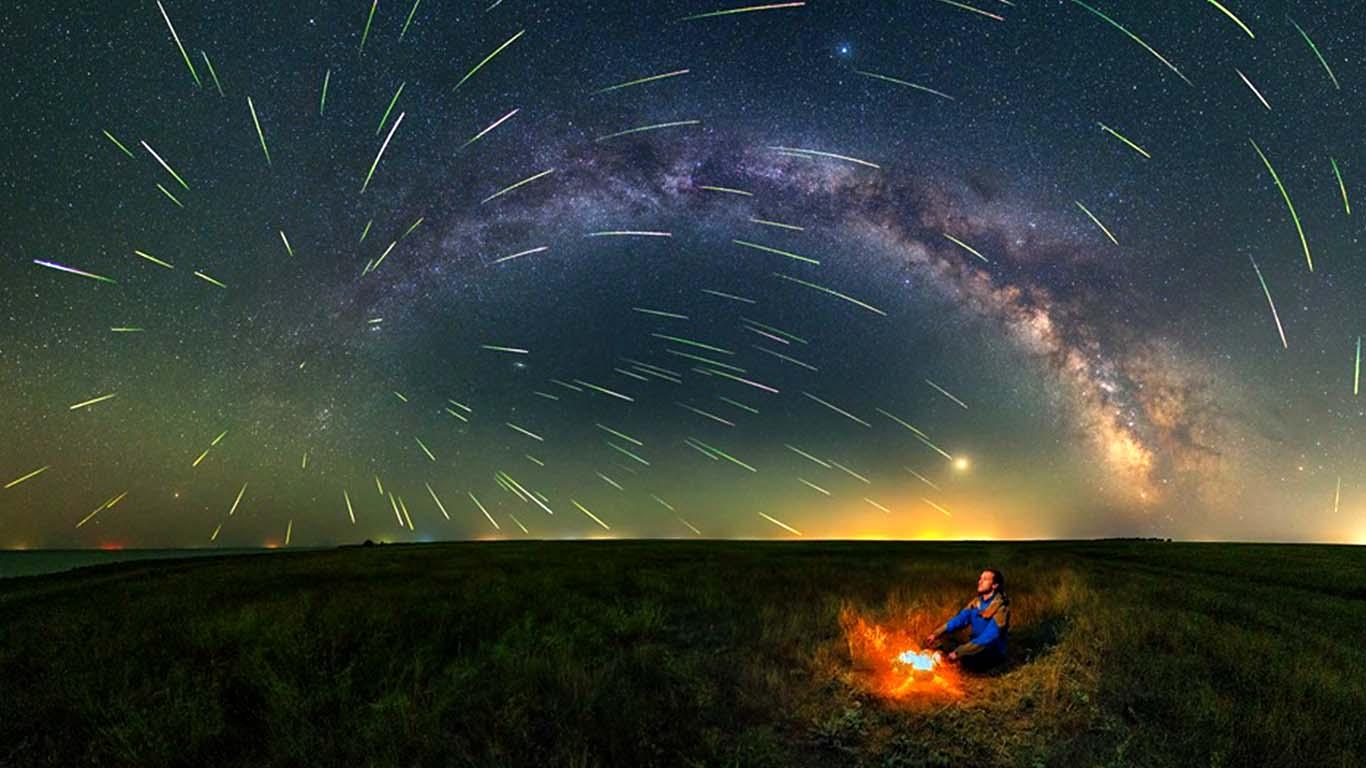Bulgaria Black Sea Coast Meteor Shower
