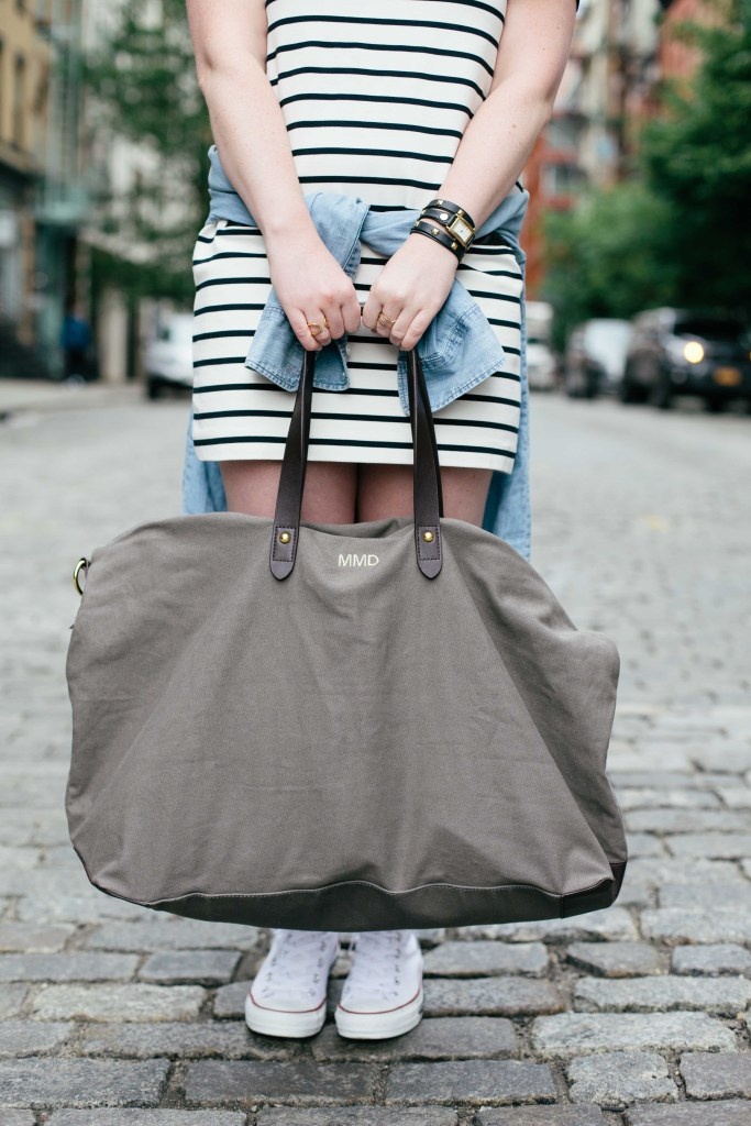 wit & whimsy I cuyana weekender