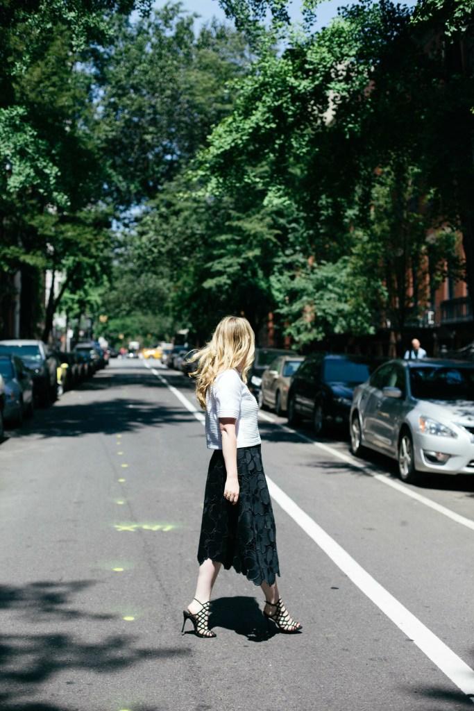 wit & whimsy I meghan donovan I cynthia rowley skirt