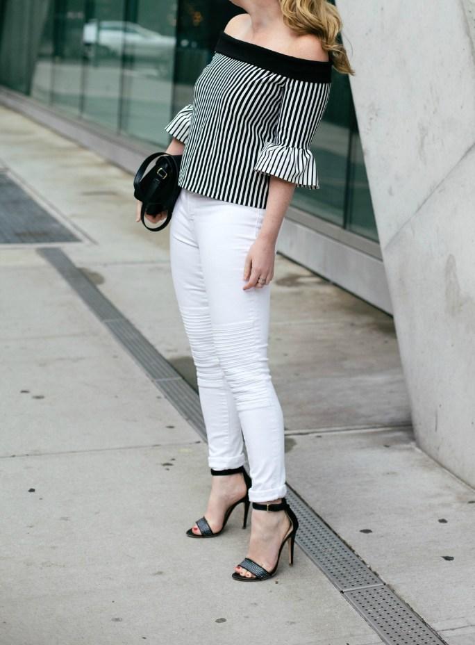 wit & whimsy I rebecca minkoff top I j brand jeans