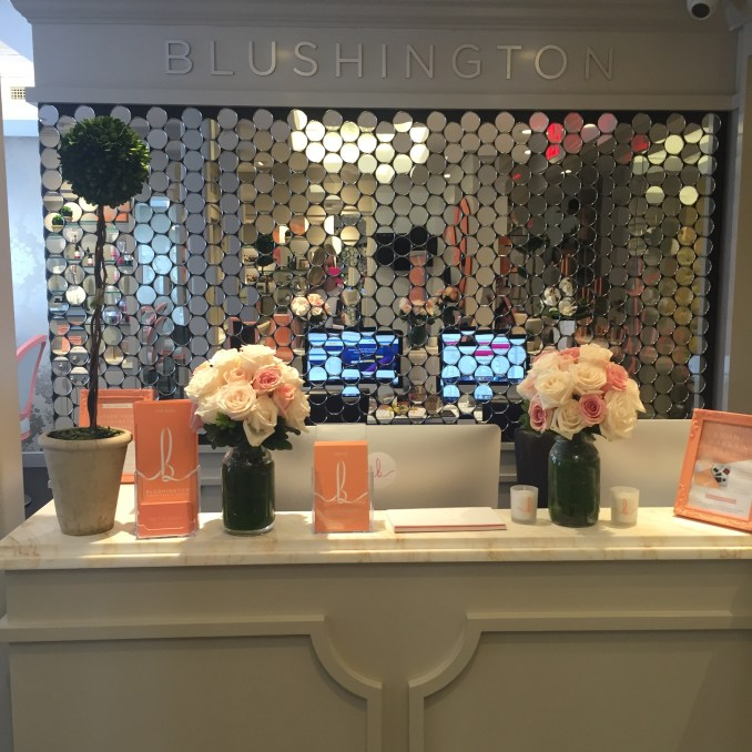 a morning at blushington in new york city