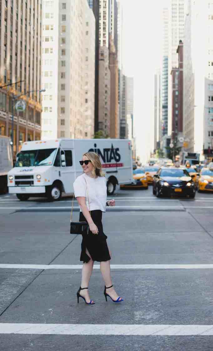 new york city I tibi car wash skirt I wit & whimsy