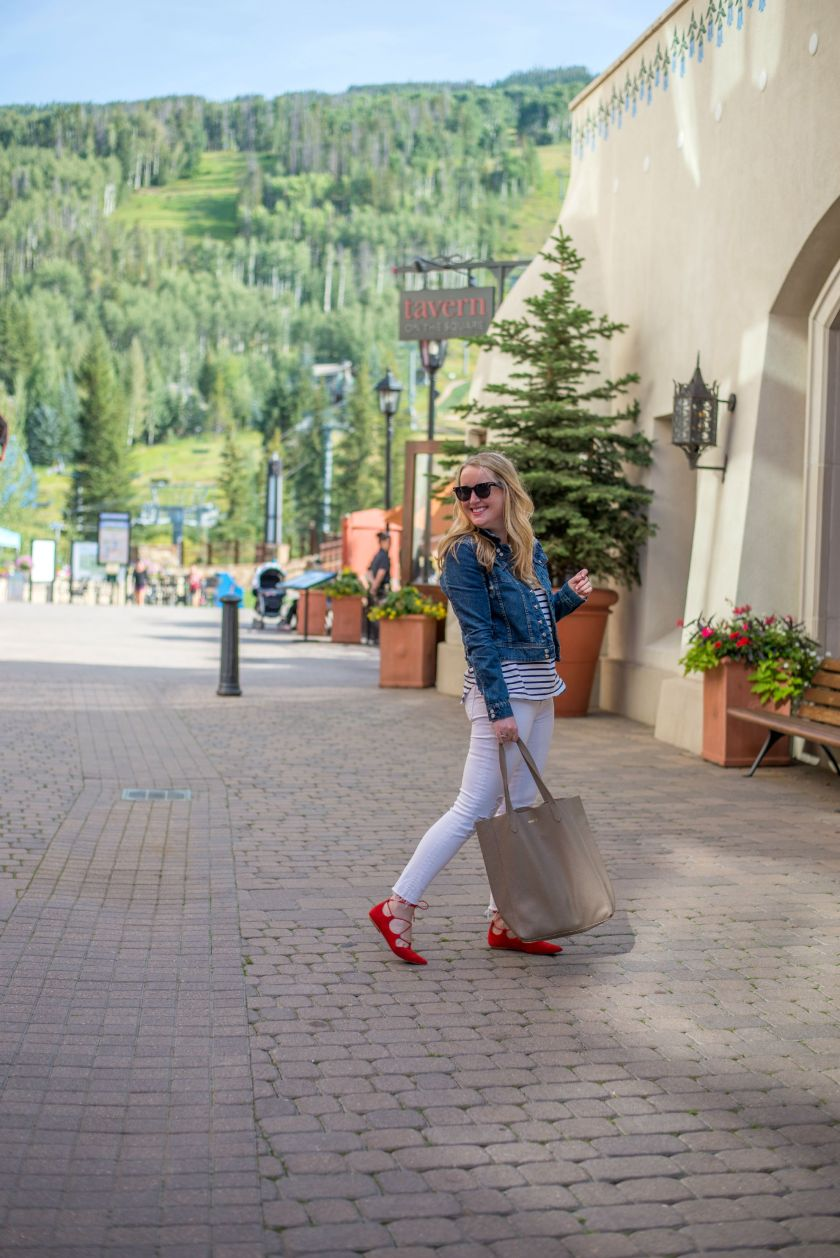Casual Style in Vail, CO I wit & whimsy