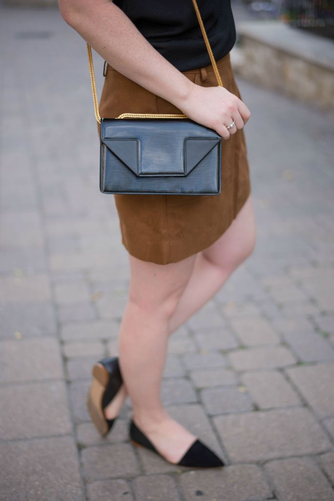 Saint Laurent Betty Bag I Madewell Flats I wit & whimsy