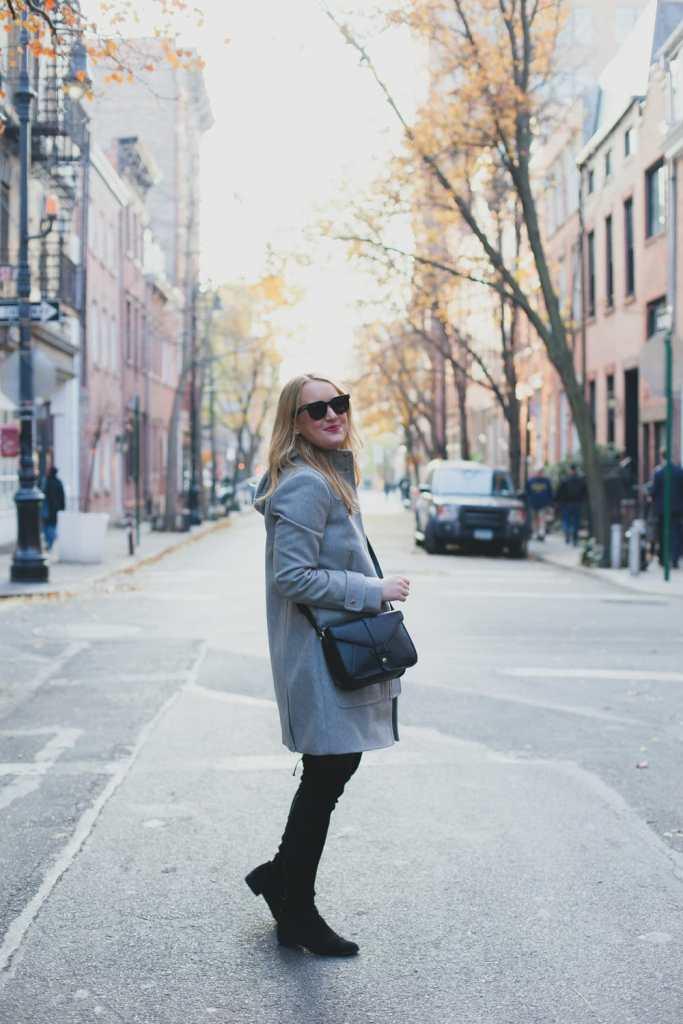 Gray Coat I wit & whimsy