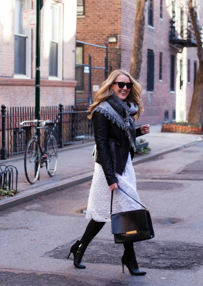 White Midi Skirt I wit & whimsy