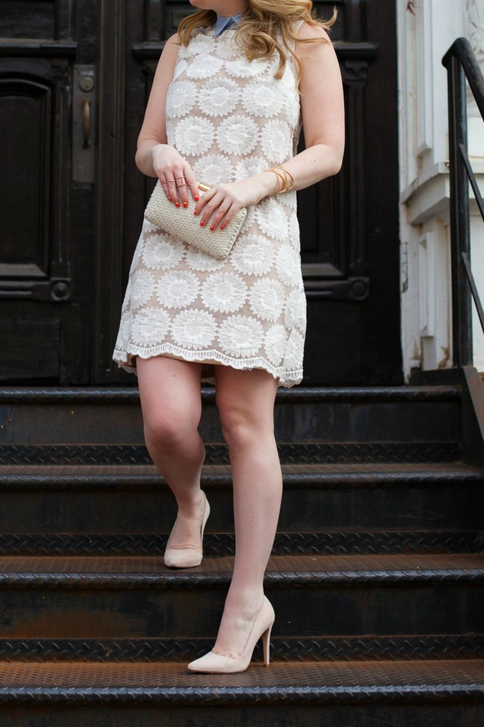 Collared Lace Tunic