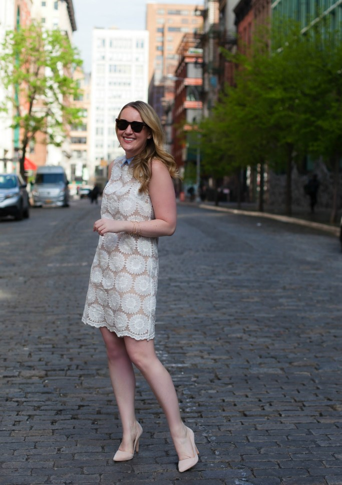 Little Lace Anthropologie Dress I wit & whimsy