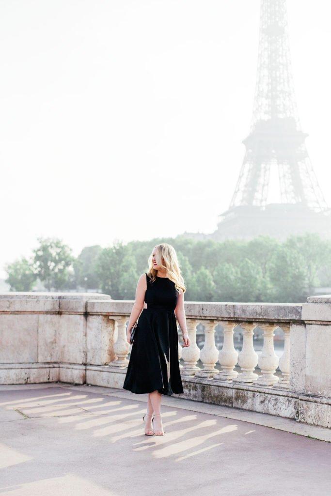 Meghan Donovan I Ted Baker Dress I Paris