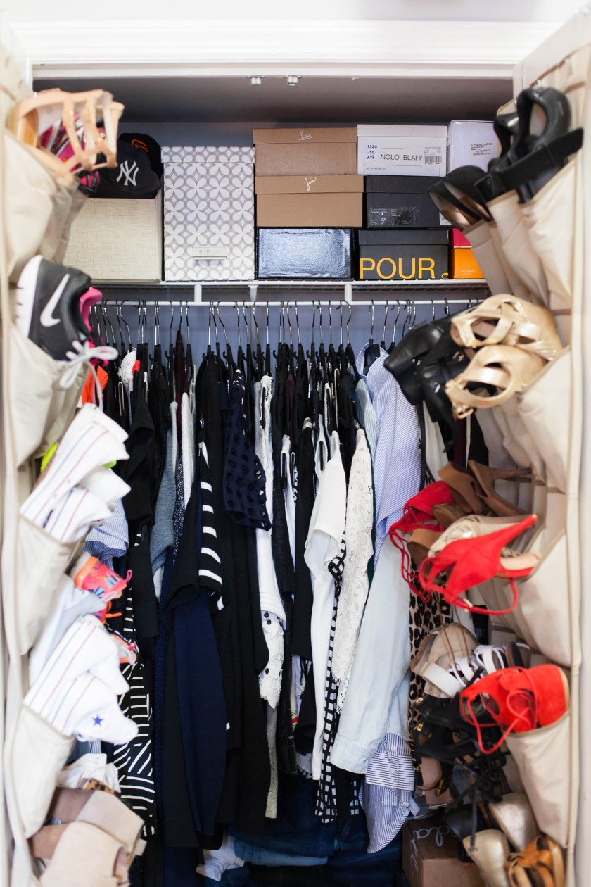 How to Organize a Small Closet I wit & whimsy