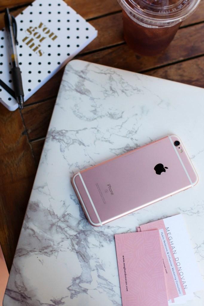 Rosegold iPhone