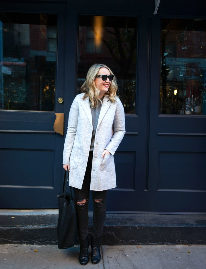 Monochromatic Dressing on Meghan Donovan of wit & whimsy