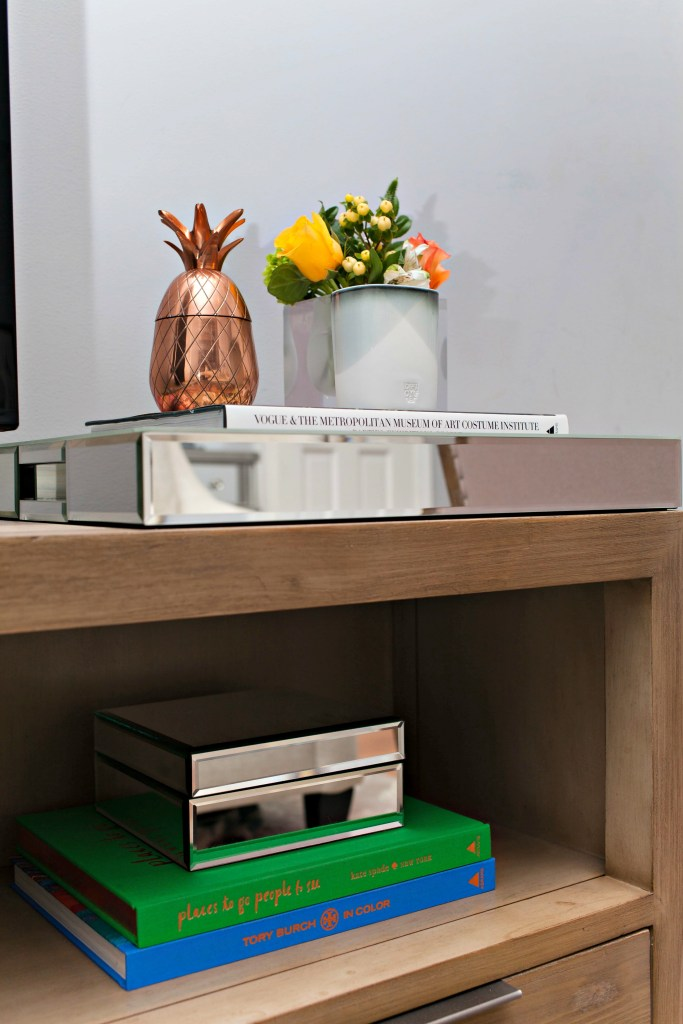 Styling a media console
