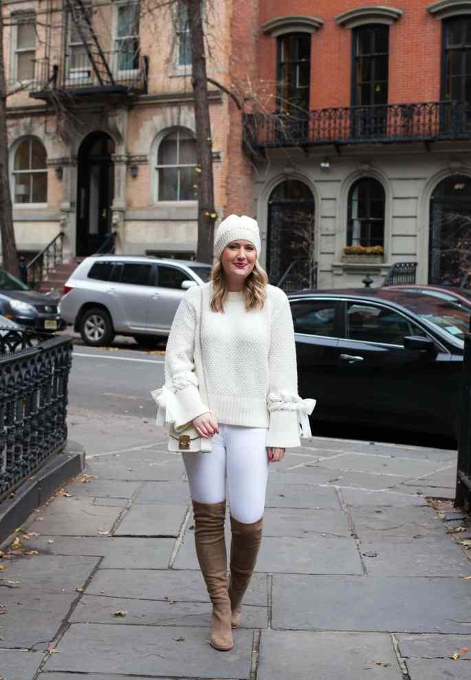 Winter Whites on blogger Meghan Donovan of wit & whimsy