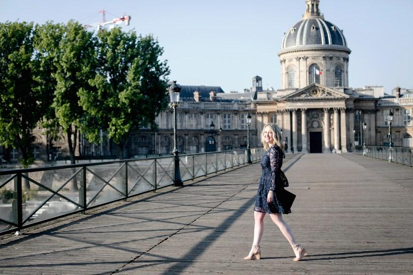 Meghan Donovan wears Cynthia Rowley in Paris