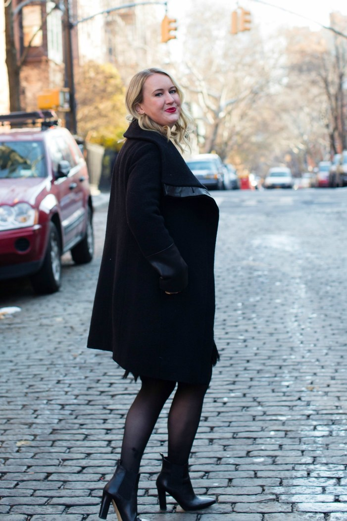Wide Collar Club Monaco Coat I wit & whimsy